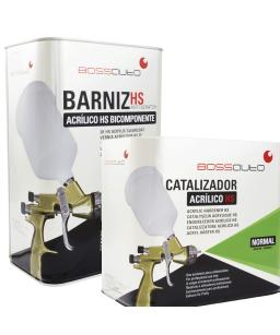 Kit Barniz acrilico HS +...