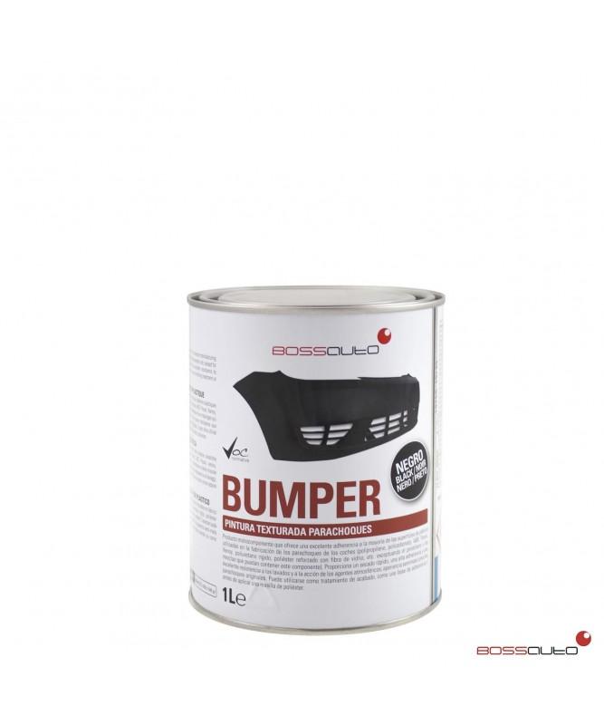 BUMPER Pintura texturada parachoques 1L negro