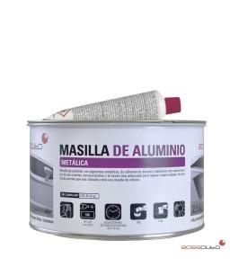 Masilla de aluminio metálica de 2