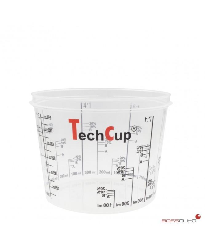 Vaso de mezcla reutilizable y calibrado TechCup 750 ml