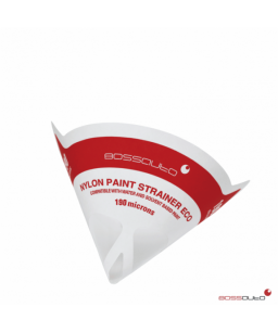 Colador de papel 190 micras con malla de nylon ECO (Caja 1000ud)