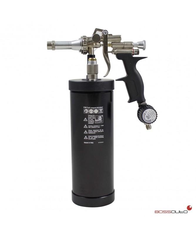 Pistola antigravilla neumática profesional con válvula
