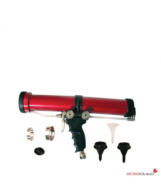 Pistola neumática multifuncional para cartucho de 310 ml.